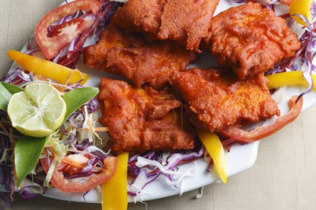 Fish Kebab - A snack made of grilled fish