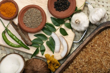 Ingredient mixture is a combination of spices, herbs and other condiemnts