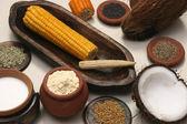 Složka směsi je kombinací koření, bylinky a další koření
