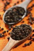 Schwarzer Pfeffer Mais oder Sabut Kali mirch