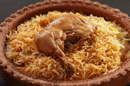 Hyderabadi Biryani - A  Popular Chicken or Mutton based Biryani