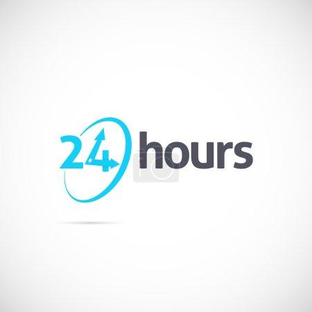 24 hours symbol
