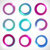 Color vector circles