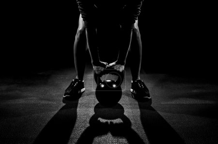 Shadow Kettle bell work