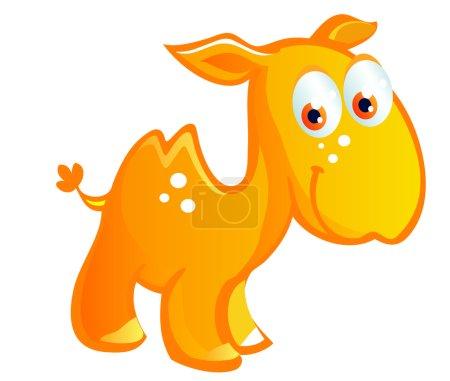 Baby camel cartoon