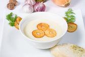 Garlic cream soup