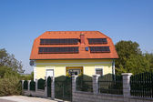 Hot water from solar energy
