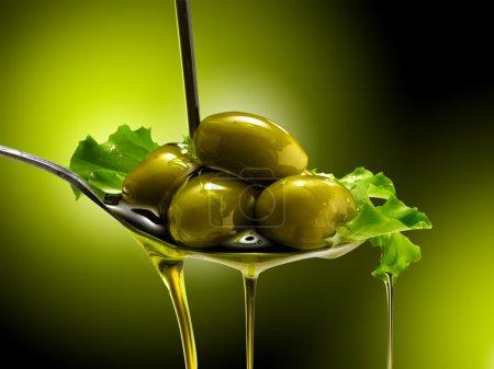 Olive oil...