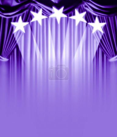 Photo for Curtain vip - Royalty Free Image