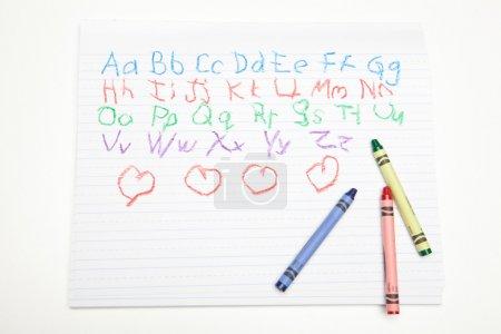Photo pour Dessin enfants - image libre de droit