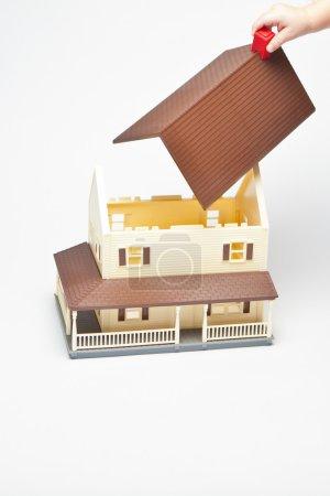 Photo pour Petite maison de jeu - image libre de droit