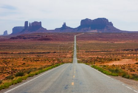 Photo for Highway 163 in Monument Valley - Royalty Free Image