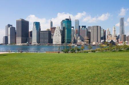 Photo pour Manhattan Skyline, New York - image libre de droit