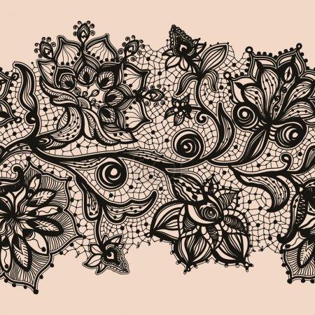 Illustration pour Infiniment papier peint, décoration pour votre design, lingerie et bijoux. Vos cartes d'invitation, papier peint, et plus . - image libre de droit