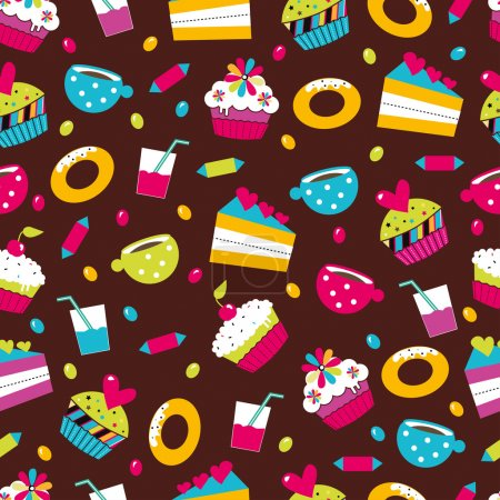 Illustration for Sweets. - Royalty Free Image