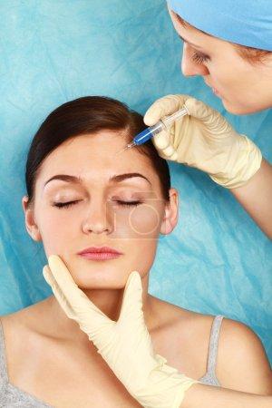 Cosmetic medicine. Botox Injection