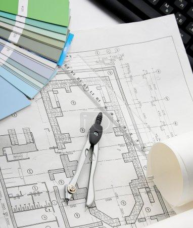 plan de l'architecture & outils