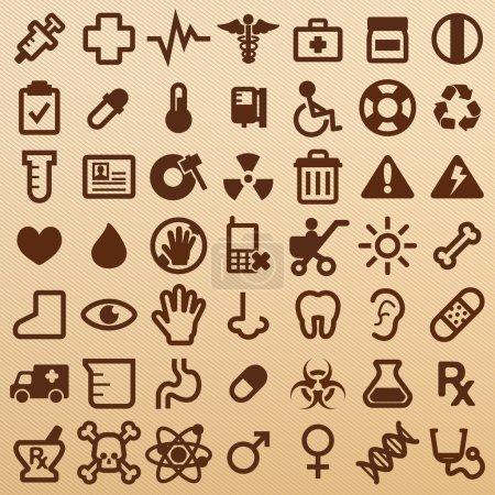 symboles de l'hôpital