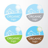 Vector - Organic logo set