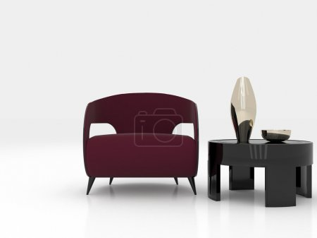 Photo for 3d furniture - Royalty Free Image