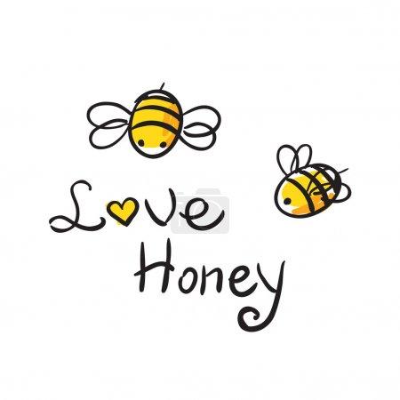 Bee Love honey