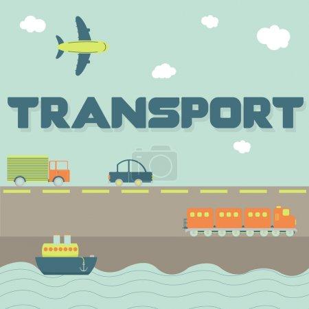 """""""Transport"""" word and means of transportation"""
