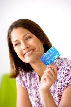 Photo pour Carte de donneur - image libre de droit