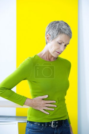 ABDOMINAL PAIN IN ELDERLY PERSON