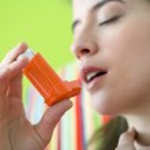 ASTHMA TREATMENT, WOMAN...