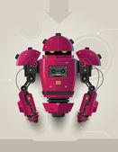 Hi Tech Futuristic Robot 02