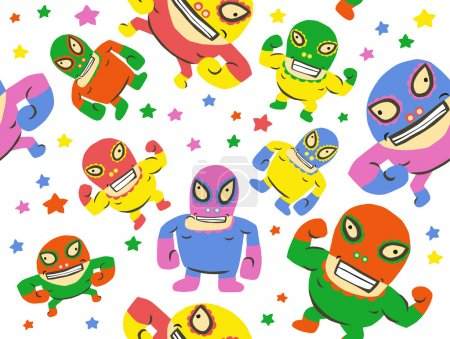 Funny Mexican Wrestlers