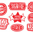 Cool Set of Stickers for Quality Products...