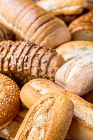 Bread Assortment Background