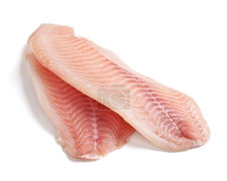 Raw Filleted Tilapia Fish