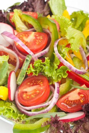 Photo for Healthy vegetables salad close-up - Royalty Free Image