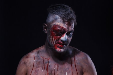zombie effrayant