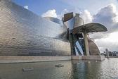 BILBAO, JUNE 25: Facade of Guggenheim Museum on June 25, 2014 in
