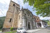 Shrine of the Holy Christ of Limpias, Cantabria (Spain).