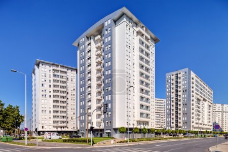 Photo for New complex of residential buildings - Royalty Free Image