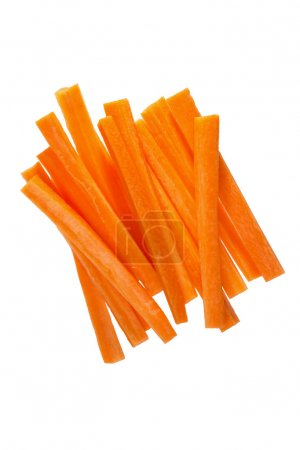 Photo for Fresh carrots sticks - Royalty Free Image
