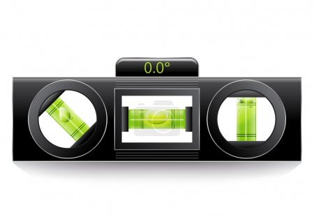 Green spirit level