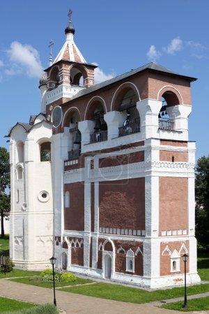 Russian orthodox belltower in Suzda