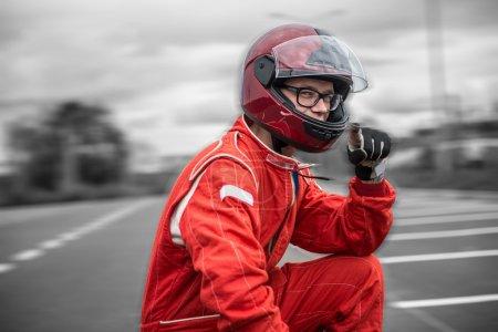 Formula one pilot