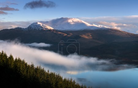Low clouds by Ben Lomond