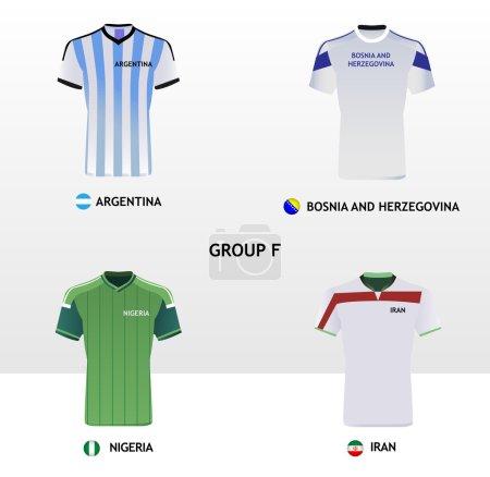 Football Jerseys Group F