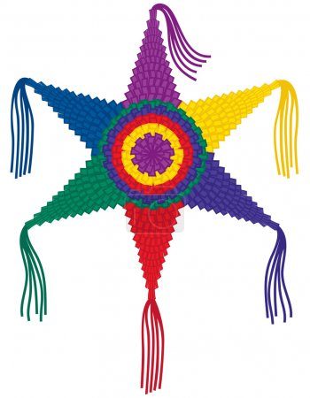 Colorful Star Pinata