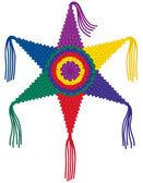 Colorful Star Pinata