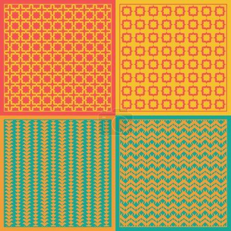 Vector patterns. Net