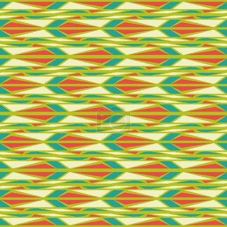 Seamless patterns Mosaic.