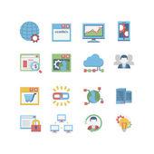 SEO & database icon set
